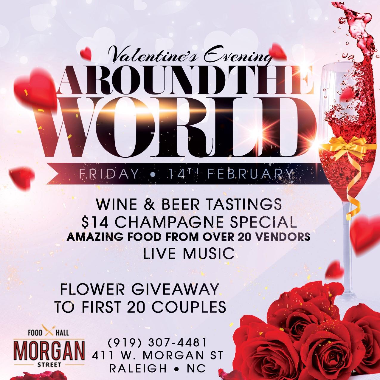 Around the World at Morgan Street Food Hall