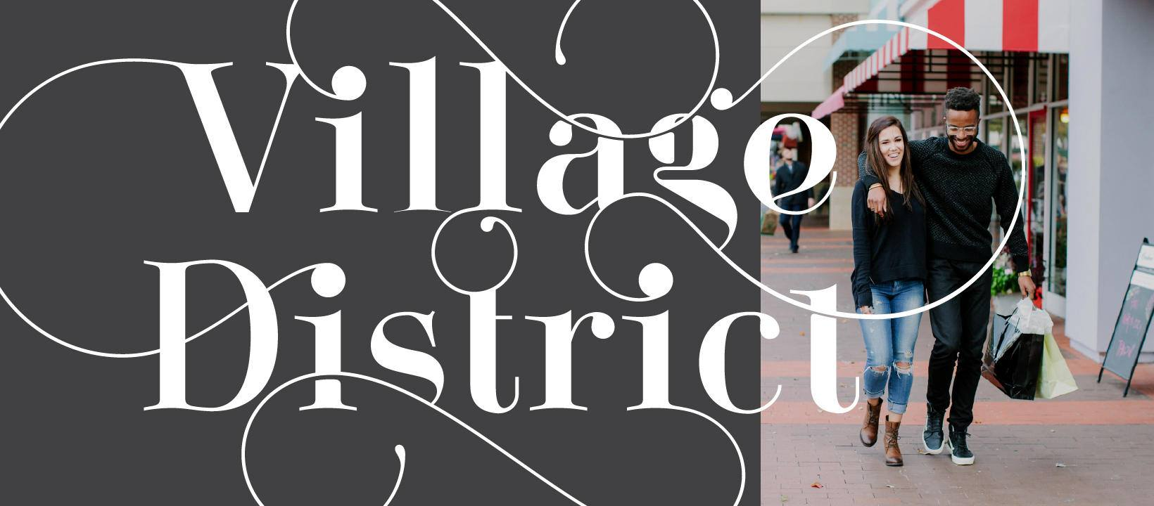 The Village District in Raleigh, NC