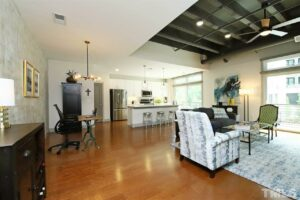 1300 St Marys Street 103 Raleigh Listed for Sale by Annie Meadows at Hudson Residential - Open Floor Plan