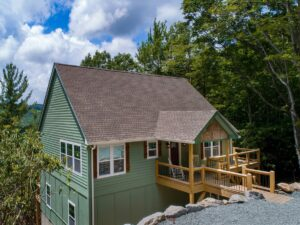 Beech Mountain House for Rent Outside
